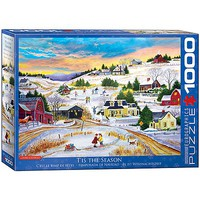 EuroGraphics Tis The Season 1000pcs