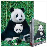 EuroGraphics Panda Bear & Cub (1000pc) Jigsaw Puzzle 600-1000 Piece #60173