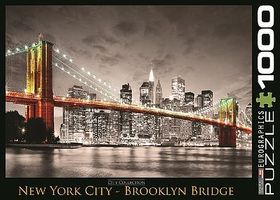 EuroGraphics New York City Brooklyn Bridge (1000pc) Jigsaw Puzzle 600-1000 Piece #60662