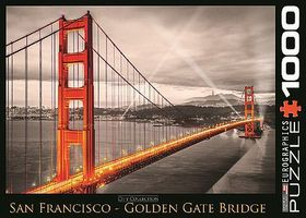 EuroGraphics San Francisco Golden Gate Bridge (1000pc) Jigsaw Puzzle 600-1000 Piece #60663