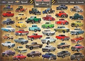 EuroGraphics American Pick-Up Truck Evolution (1000pc) Jigsaw Puzzle 600-1000 Piece #60681