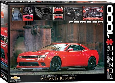 Eurographics Puzzles A Star is Reborn- 2015 Chevrolet Camaro (1000pc) -- Jigsaw Puzzle 600-1000 Piece -- #60734
