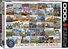 EuroGraphics Globetrotter Castle & Palaces Collage (1000pc) Jigsaw Puzzle 600-1000 Piece #60762