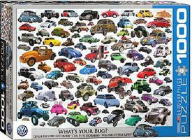 EuroGraphics Whats Your Bug? VW Beetle Collage Puzzle (1000pc) Jigsaw Puzzle 600-1000 Piece #60815