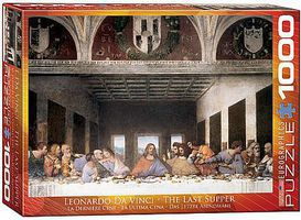 EuroGraphics The Last Supper (1000pc) Jigsaw Puzzle 600-1000 Piece #61320