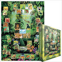 EuroGraphics Tropical Rain Forest Collage (1000pc) Jigsaw Puzzle 600-1000 Piece #62790