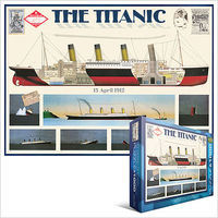 EuroGraphics The Titanic Ocean Liner (1000pc) Jigsaw Puzzle 600-1000 Piece #63510