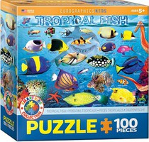 EuroGraphics Tropical Fish Puzzle (100pc)