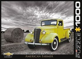 EuroGraphics American Farmer- 1937 Chevy Pickup (1000pc) Jigsaw Puzzle 600-1000 Piece #80666