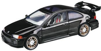 1 18 fast furious 39 95 honda civic black ert33411 ertl diecast model cars trucks 1 1 1 19 scale. Black Bedroom Furniture Sets. Home Design Ideas