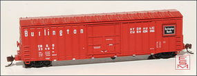 Eastern-Seaboard N X58 Boxcar CB&Q 23484 N Scale Model Train Freight Car #222602