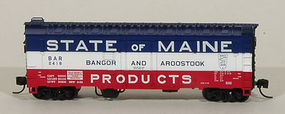 Eastern-Seaboard N ACF 40 Boxcar BAR 2315 N Scale Model Train Freight Car #225204