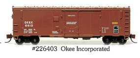 Eastern-Seaboard N ACF 40 Boxcar OKEE 6012 N Scale Model Train Freight Car #226403