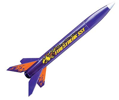 Estes Firestreak SST E2X Model Rocket Kit Easy To Assemble #0806