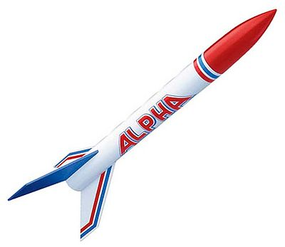 Estes Rockets Alpha Model Rocket Kit -- Skill Level 1 -- #1225