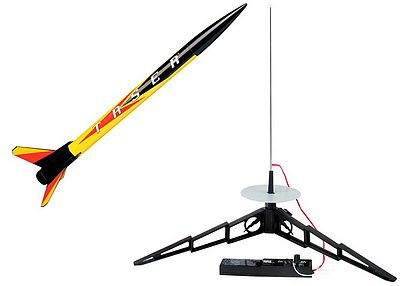 Estes Taser Model Rocket Starter Set Easy To Assemble #1491