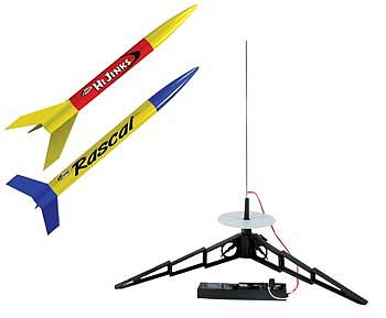 Estes Rockets Rascal/HiJinks Model Rocket Starter Set -- Ready To Fly -- #1499