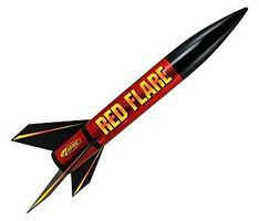 Red Flare E2X Model Rocket Kit Easy To Assemble #1954