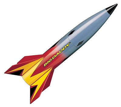 Estes Rockets Big Daddy 'E' Model Rocket Kit -- Skill Level 2 -- #2162