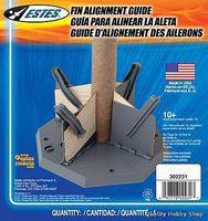 Estes Model Rocket Fin Alignment Guide Model Rocket Building Accessory #2231