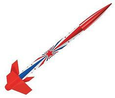 Estes Shooting Star Model Rocket Ready To Fly #2473