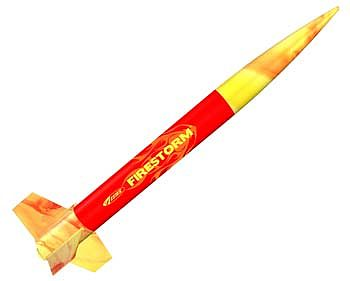 Estes Rockets Firestorm ARF Model Rocket -- Almost Ready To Fly Model Rocket -- #2488