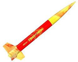 Estes Firestorm ARF Model Rocket Almost Ready To Fly Model Rocket #2488
