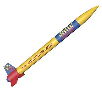 Estes Rookie ARF Almost Ready To Fly Model Rocket Kit #2498