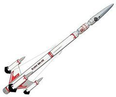 Estes Dark Silver Model Rocket Kit Skill Level 4 #7229