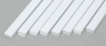 "Rod. 2.0 mm Evergreen Strip Styrene 212 6 x .080/"""