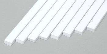 Evergreen Plastic Styrene Strips .080x.156 (8) Model Railroad Scratch Building Supply #167