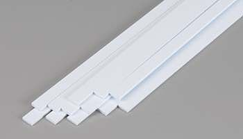 Evergreen Plastic Styrene Strips .060x.250 (12) Model Railroad Scratch Building Supply #359