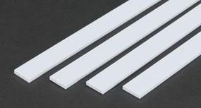 Evergreen Plastic Styrene Strips .125X.625 (4) Model Railroad Scratch Building Supply #394