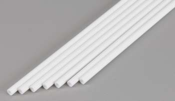 Evergreen Plastic Styrene Round Tubing (Telescoping) (7) Model Railroad Scratch Building Supply #425