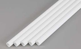 Evergreen Plastic Styrene Round Tubing (Telescoping) (5) Model Railroad Scratch Building Supply #430