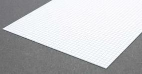Evergreen Square Tile Sheet 1/6 inch Plastic Model Railroad Scratch Building Supply #4504