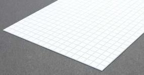 Evergreen Square Tile Sheet 1/3 inch Plastic Model Railroad Scratch Building Supply #4506