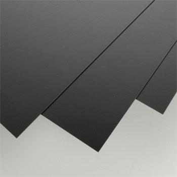 Evergreen Plastic Styrene Black Sheet .040x8x21 (3) Model Railroad Scratch Building Supply #9115