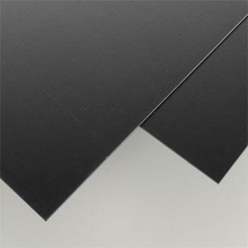 Evergreen Plastic Styrene Black Sheet .060x8x21 (2) Model Railroad Scratch Building Supply #9116
