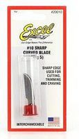 Excel Stainless Steel Curved Edge Scalpel Blades (2) Hobby Knife Blades #10