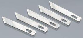 Angled Chisel Blade, 5pc, Carded