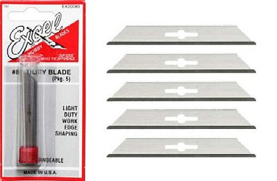Excel Straight edge blade    5/ (5)