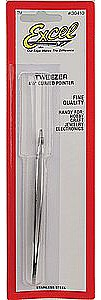 Excel Curved Point Tweezers Hobby Clamp Tweezer #30410