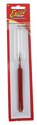 Excel Stainless Steel Ultra Fine Straight Point Tweezers