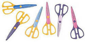 Excel IRREGULAR LINE CUT SCISSORS