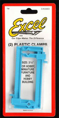 Excel Small Clamps, 1 x 3-1/2