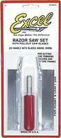 Excel Precision Razor Saw Set w/2 Blades