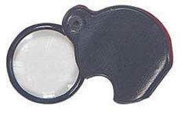 Excel POCKET MAGNIFIER W/glass lens