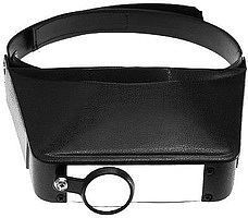Excel Deluxe Magna-Visor Headband Magnifier w/Loupe 1.8x, 2.3x, 3.7x, 4.8x
