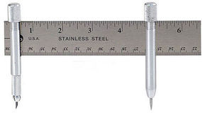 Excel YARDSTICK COMPASS SWIVEL & PIN